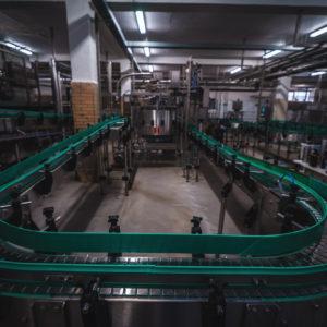 beer bottle packaging process
