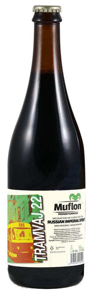muflon tramvaj beer kunratice brewery