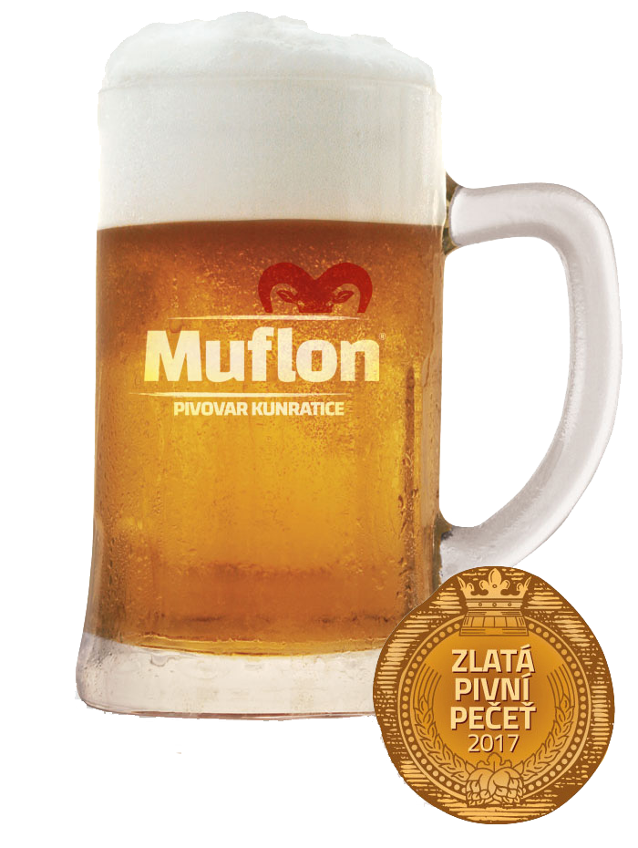 czech awarded beer muflon 11 lager