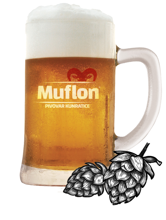 muflon light lager 12 hopped