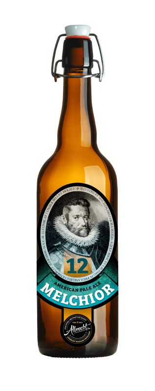 albrecht 12 melichor czech beer bottle