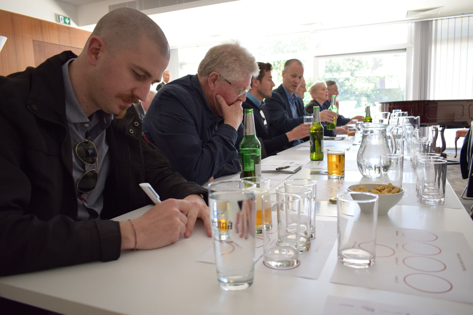 beer workshop at the czech embassy in london