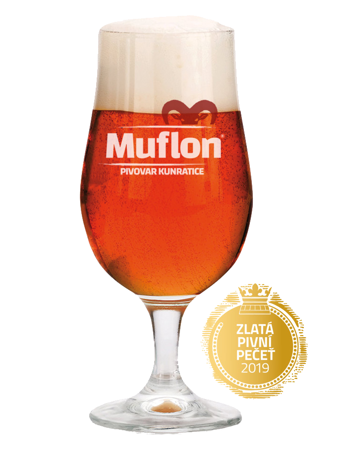 Muflon red ale beer