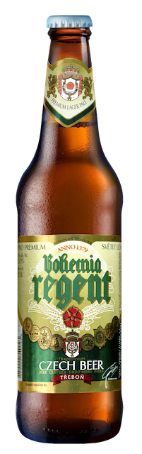 bohemia regent beer bottle