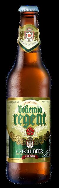 bohemia regent beer bottle
