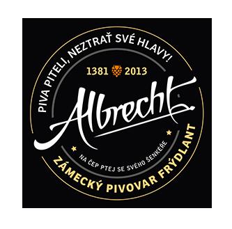 albrecht logo brewery